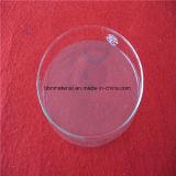 Disco de vidro de quartzo transparente todo o disco para janela de observação de resistência ao calor