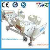 反隆起装置ICU病院用ベッドが付いているThrEbw509 ABS側面柵