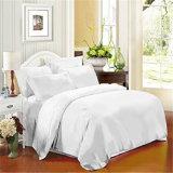 Белый хлопок кровать лист прочного отель хлопка кровать наборы листов