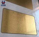 チタニウムのめっきのステンレス鋼装飾的なシートの版の金カラー