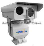長距離IPレーザーの夜間視界のカメラ2km夜、5km日