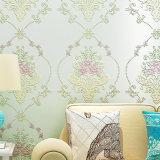 Papel de empapelar, Wallcovering, decoración de la pared, tela de la pared del PVC, hoja del suelo del PVC 3D, papel pintado del PVC