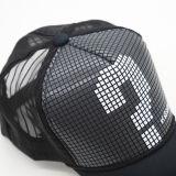 Kundenspezifische Förderung schäumt Form-Drucken-Sommer-Ineinander greifen-Fernlastfahrer-Hut-Sport-Baseballmütze