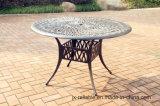 Tuin Gegoten Aluminium 48 het Meubilair van de Ronde Lijst ''