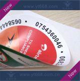 Autoadesivo di carta adesivo diContraffazione della stampa doppia impermeabile di abitudine
