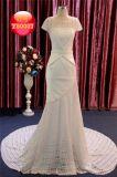 Le circuit gaine le lacet de sirène et la longue robe de mariage Chiffon de robe