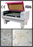 Le double de haute performance dirige le coupeur de laser pour le cuir de tissu