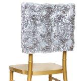 Muchos colorean el capo motor del casquillo de la silla de Chiavari de la cubierta de la silla del rosetón del satén