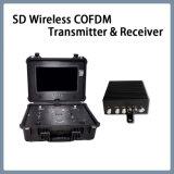 LCDが付いている携帯用SD無線ビデオCofdmの送信機そして受信機