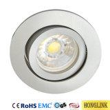Kippbare MR16/GU10 Downlight LED Deckenleuchte-Vorrichtung