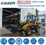 Оборудование для лесного хозяйства Eougem Zl16 Mini колесного погрузчика с маркировкой CE Сертификат/мини-обратной лопаты