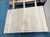Suelo de madera gris del mármol del grano con la superficie Polished para el azulejo de interior