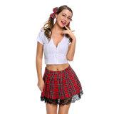 Sexy costume de séductrice de gros de l'école fille
