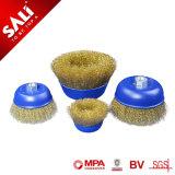 Más duraderos para la Eliminación de manchas de óxido pintura Cepillo de taza rizado