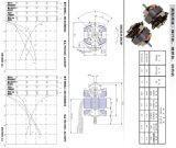 Motore elettrico del miscelatore del ventilatore di CA degli elettrodomestici del motore di monofase