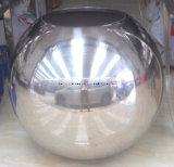 Kundenspezifische große Edelstahl-Höhlung-Gleitbetriebs-Kugel mit Loch 100mm