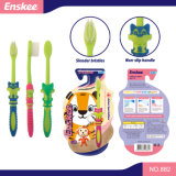 O miúdo/criança/Toothbrush das crianças com as cerdas delgadas & macias, presente incluíram o bloco 882