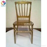 黒いカラー結婚式のホテルのための木製のナポレオンの椅子