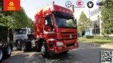 HOWO 60t LHDのトラックヘッド12速度の手動頑丈なトラクターのトラック