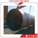 China-Produkt-gewölbte Stahlgefäß-großer Durchmesser-Spirale-Stahlrohr