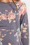 모성 복장을 인쇄하는 최신 판매 숙녀의 긴 소매