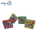 Het aangepaste Kleurrijke Embleem Afgedrukte Vakje van het Document van de Gift van het Suikergoed van Kerstmis Verpakkende (QYZ030)