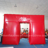 Forma diferente personalizada do arco inflável barato do ar para o anúncio da venda do evento do casamento