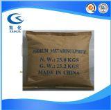 Gránulos de sodio Metabisulphite cristalino blanco