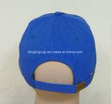 El panel 100% del peso ligero seises del poliester impreso y gorra de béisbol del bordado