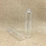 210ml vacian la botella plástica de la bomba del animal doméstico redondo claro del cilindro