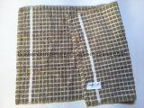 Kaffee-Check-Jacquardwebstuhl-kundenspezifisches Baumwollterry-Küche-Tuch des Fabrik Soem-Erzeugnis-45*66cm