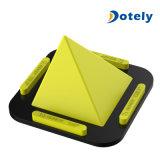 ピラミッドのデスクトップの立場の携帯電話のホールダーはiPhone Samsungのためのキャンデーカラーを取付ける