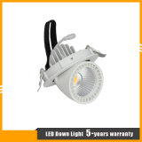 7W調節可能な埋め込まれた穂軸LEDのトランクDownlight