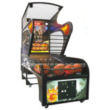 Parque de diversões com moedas máquina de arcada jogo de tiro de basquete