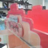 Таможня Китая поворачивая изготовление индикации ювелирных изделий акриловых косметических устроителей состава индикации акриловых акриловое