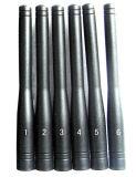 Brouilleurs de téléphone cellulaire d'antennes du Portable six, brouilleur de fréquence ultra-haute de VHF de WiFi de DCS PCS 3G GPS de GM/M CDMA