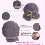 Dlme natürliche schwarze lose wellenförmige Frauen-synthetische Haar-Perücke