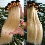 Самое лучшее продавая шелковистое прямое перуанское выдвижение человеческих волос девственницы