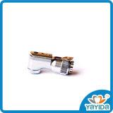 Handpiece dentaire en forme de verrou dentaire contre la tête de cornière