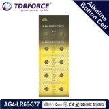 батарея клетки AG5/Lr754 кнопки Mercury 1.5V 0.00% свободно алкалическая
