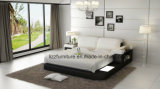 두바이 현대 가정 가구 실제적인 LED 침대
