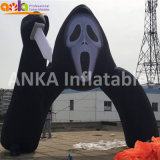 Halloween gonflable Archway Ghost Face arche noir