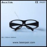 80% transmitância de 2940nm óculos de segurança de laser e óculos de segurança de laser de Er de Laserpair Laser