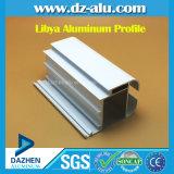 Grano de madera del perfil de Libia de la ventana de la puerta de la capa de aluminio del polvo