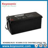 Batterie rechargeable d'UPS AGM 12V 180ah pour le réverbère solaire électrique