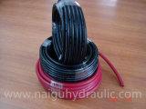 Schwarze/rote Gummiluft-Schlauchleitung für Luftverdichter