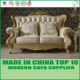 Presidenza sezionale di cuoio italiana del sofà della mobilia domestica classica