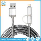 Téléphone mobile 2 en 1 Câble de chargement de données USB