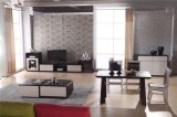 Sofá de Canto Fabric modernos com mobiliário de sala de estar para Otomano