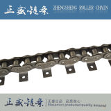 標準Triplex鋼鉄短いピッチの精密産業コンベヤーのローラーの鎖